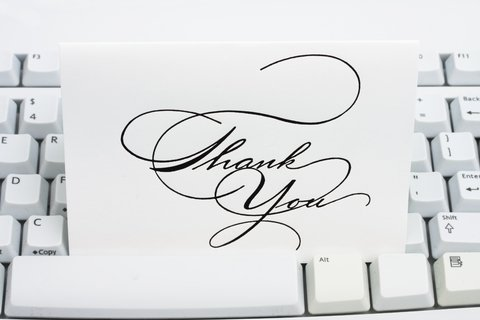 Tips for Efficient and Effective Thank You's