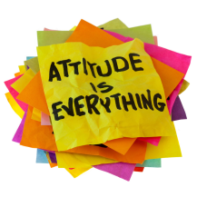 attitude and behavior is everything