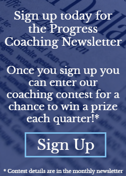 Newsletter sign up - blog