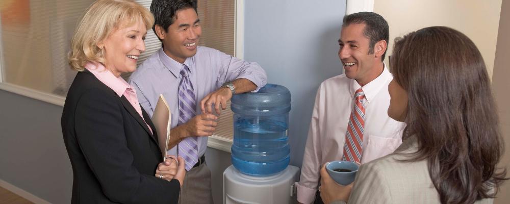 water-cooler-talk